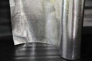 Subcobertura Acusterm com folha de aluminio - Acusterm isolamentos termicos e acusticos