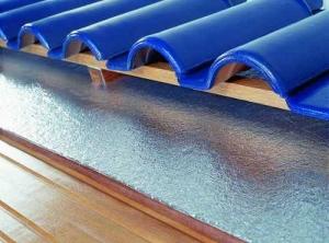 Subcobertura Isolante - Telhado exemplo de instalacao - Acusterm isolamentos termicos e acusticos - Comprar com melhor preco
